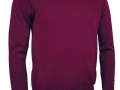 Lambswool v-neck Sweater bordeaux