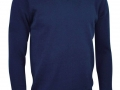 Lambswool v-neck Sweater navy