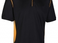 0785 Premium Polo-black amber