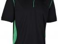 0785 Premium Polo-black emerald