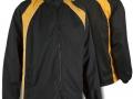 0355 Showerproof Jacket-BLACK AMBER