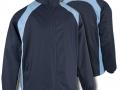 0355 Showerproof Jacket-NAVY SKY FB