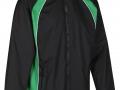 0355 Showerproof Jacket-black emerald