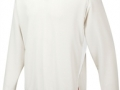 Curve l-s sweater_White