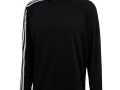 3 stripe 1-4 zip black