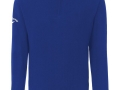 Merino 1-2 zip Sweater magnetic blue