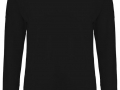 Merino v-neck Sweater black