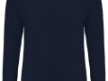 Merino v-neck Sweater navy