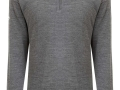 Merino mix Windstopper grey