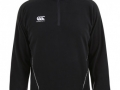 Team 1-4 Zip Micro Fleece_blk-whi