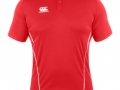 Team Dry Polo_red-whi
