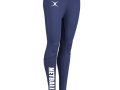 Vixen Print Leggings-navy