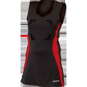 Eclipse dress_blk-red