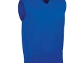 Cotton v-neck Slipover ascot blue