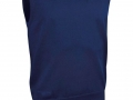 Cotton v-neck Slipover navy