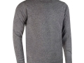 Lambswool crew neck Sweater grey