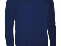 Lambswool crew neck Sweater navy