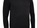 Lambswool v-neck Sweater black