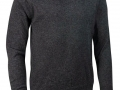 Lambswool v-neck Sweater charcoal