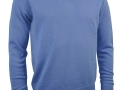 Lambswool v-neck Sweater light blue