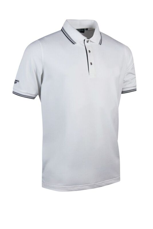 Tipped Polo whi-blk