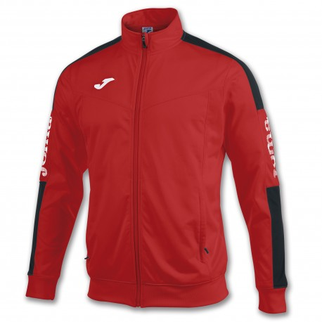 Champion IV Poly Jacket-red-blk