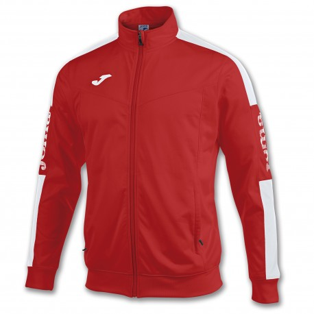 Champion IV Poly Jacket-red-whi