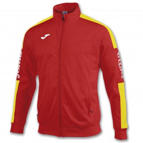 Champion IV Poly Jacket-red-yel