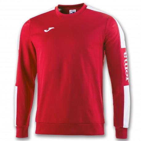 Champion IV Sweatshirt-red-whi