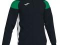 1-4 zip Sweatshirt_blk-whi-gre