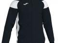 1-4 zip Sweatshirt_blk-whi