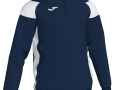 1-4 zip Sweatshirt_navy-whi