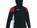 Hooded Jacket_blk-whi-red