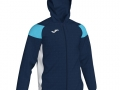 Hooded Jacket_navy-whi-sky