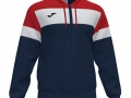 Hooded Jacket_navy-red-whi
