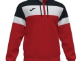 Hooded Jacket_red-blk-whi