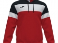 Hooded Sweat_red-blk-whi