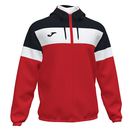 Rain Jacket_red-blk-whi