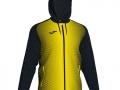 Hooded Jacket_blk-yel