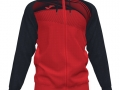 Hooded Jacket_red-blk