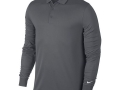 Victory l-s Polo dark grey
