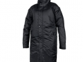 827 Contoured Bench Coat-black