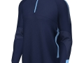 Edge Pro 1-4 Zip Midlayer_navy-sky