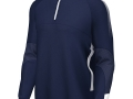 Edge Pro 1-4 Zip Midlayer_navy-whi
