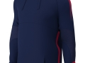 Edge Pro Poly Hoody_navy-red
