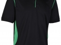 0785 Premium Polo-black emerald