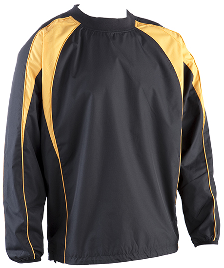 0391 Pro Training Top-BLACK AMBER