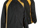 0355 Showerproof Jacket-BLACK AMBER