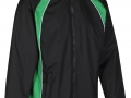0355 Showerproof Jacket-black emerald