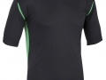 0660 Pro Training Tee-BLACK EMERALD